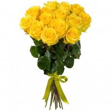 Букет из 15 роз Пенни Лейн  60см