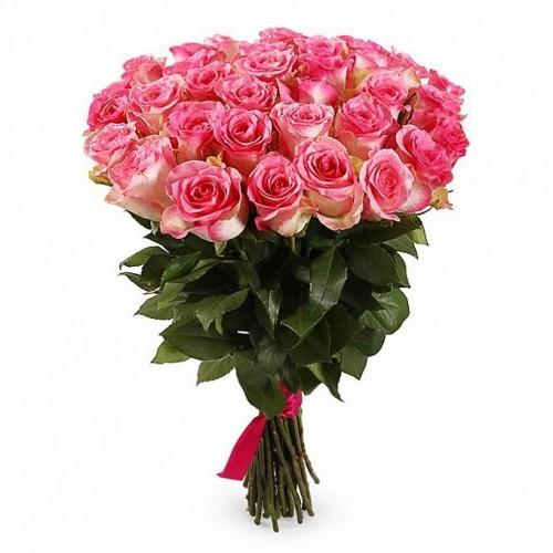 Букет из 33 роз Джумилия с упаковкой