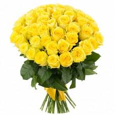 Букет из 49 роз Пенни Лейн с упаковкой 50см