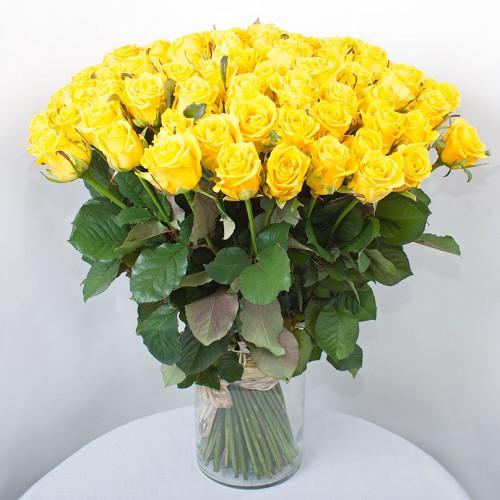 Букет из 75 роз Пенни Лейн